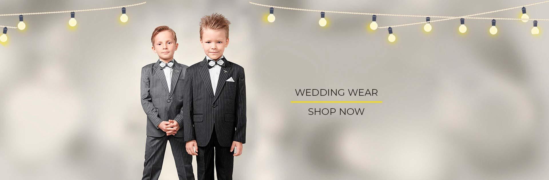 Boys wedding wear